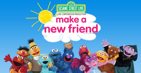 Enter to Win Tickets to Sesame Street Live