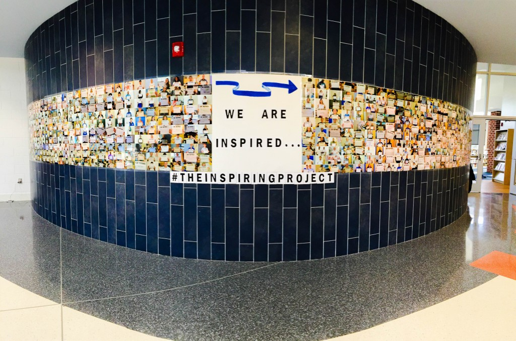 Woodbridge High Student Launches 'Inspiring Wall 2.0'