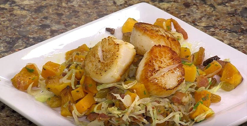 Seared Day Boat Scallops with Ronnie Burkle from SoDel Concepts