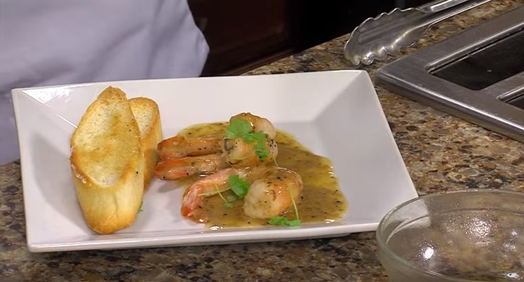 Nola Shrimp with Chef Marcus Green from The Buttery