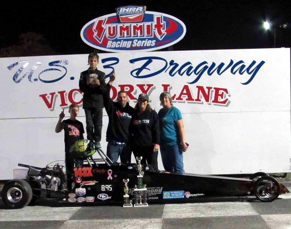 Drag Racing: Drummond Doubles Up at U.S. 13 Dragway