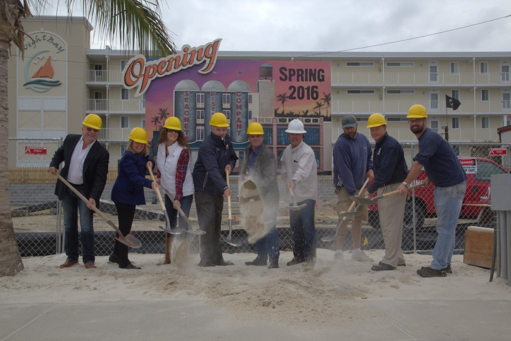 Seacrets Breaks Ground on New Distillery in Worcester County