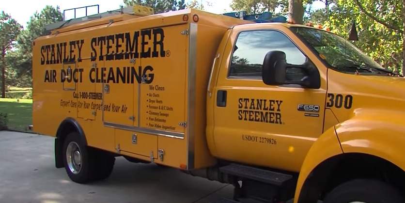 Cleaning Process with Stanley Steemer – Tuesday, Nov. 3, 2015