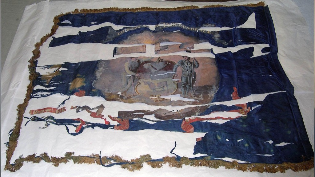 Travels With Charlie: Civil War Battle Flag at Delaware Historical Society
