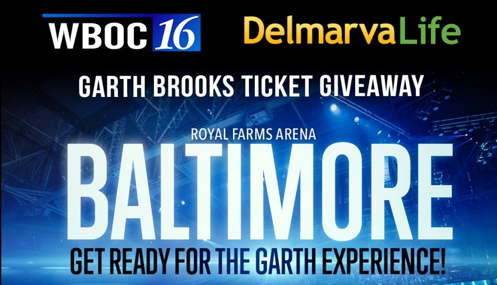 Garth Brooks is Coming to Baltimore, Md. & We're Giving Away Tickets!