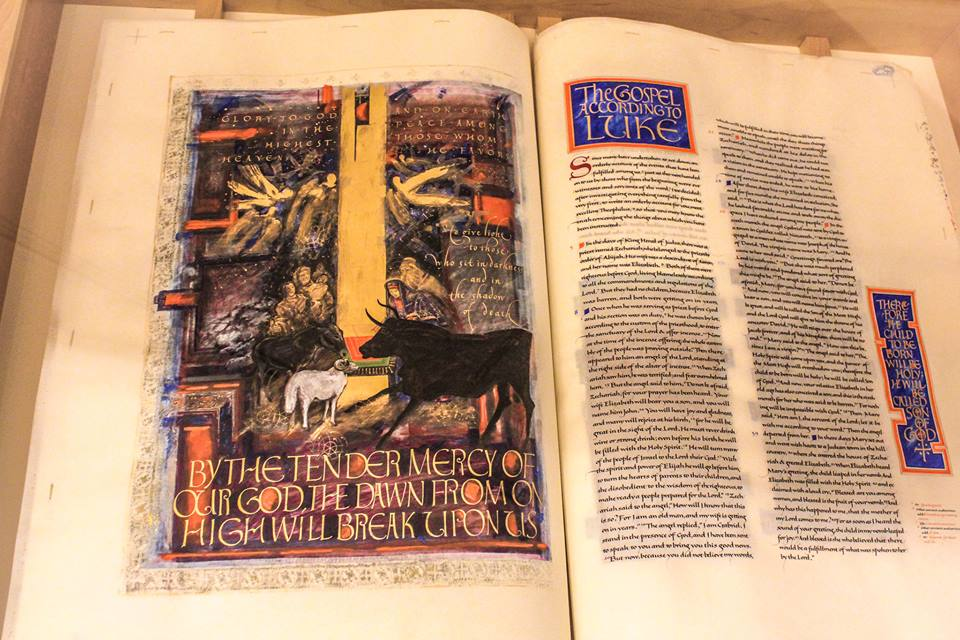 St. John's Bible Exhibit on Display in Dover