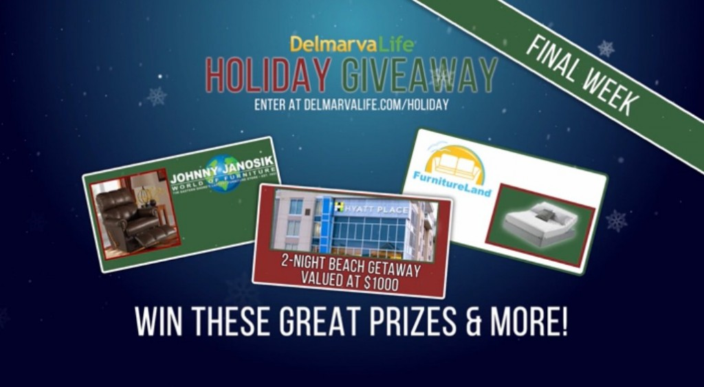 Holiday Giveaway Prizing Preview: Week of Dec. 7 – 11