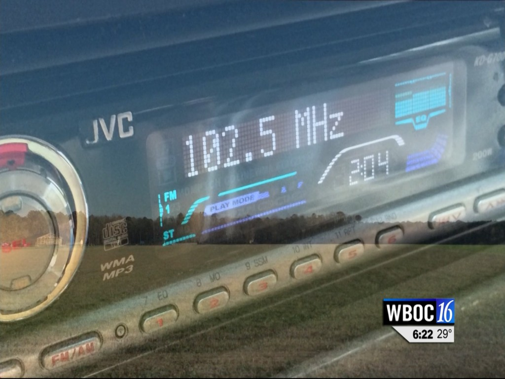 Travels With Charlie: New Radio Station WBOC 102.5 FM