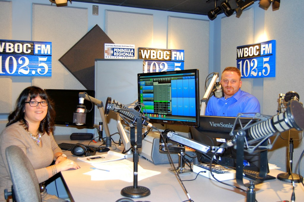 WBOC 102.5 Debuts Morning Show- Video Highlights