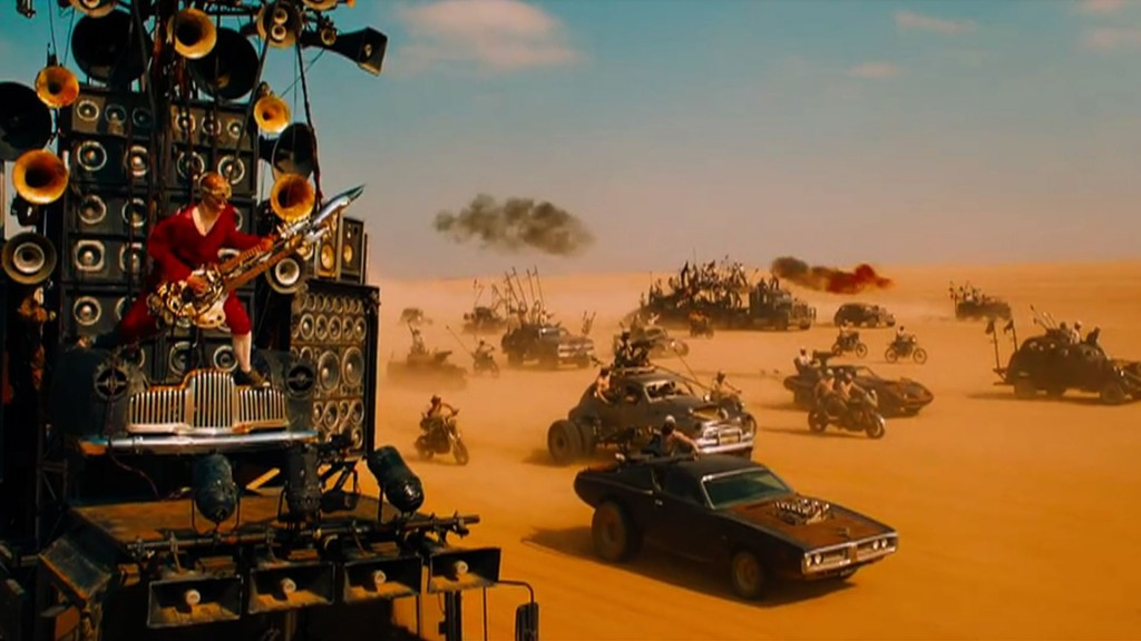 Scene from 'Mad Max: Fury Road'
