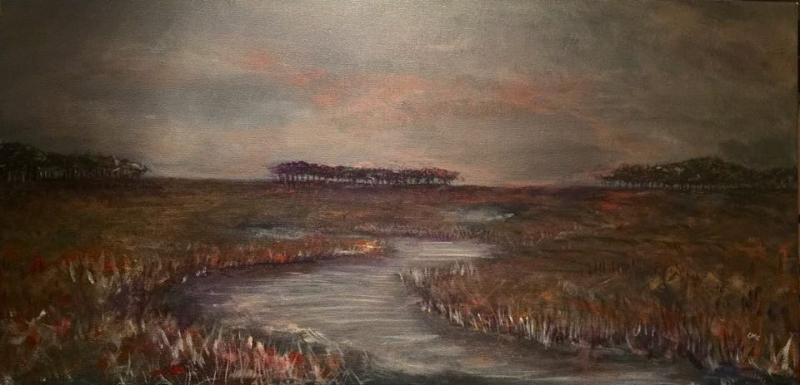 Onancock, Va Marsh by Crystal Collins