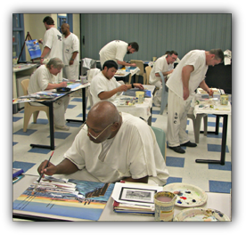 Sussex Correctional Institution Art Program Partners with Millsboro Art League