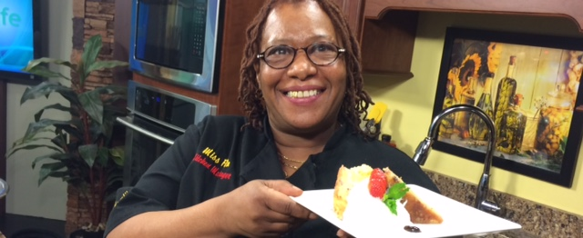 White Chocolate and Strawberry Bread Pudding with Chef Flo from the Market Street Inn