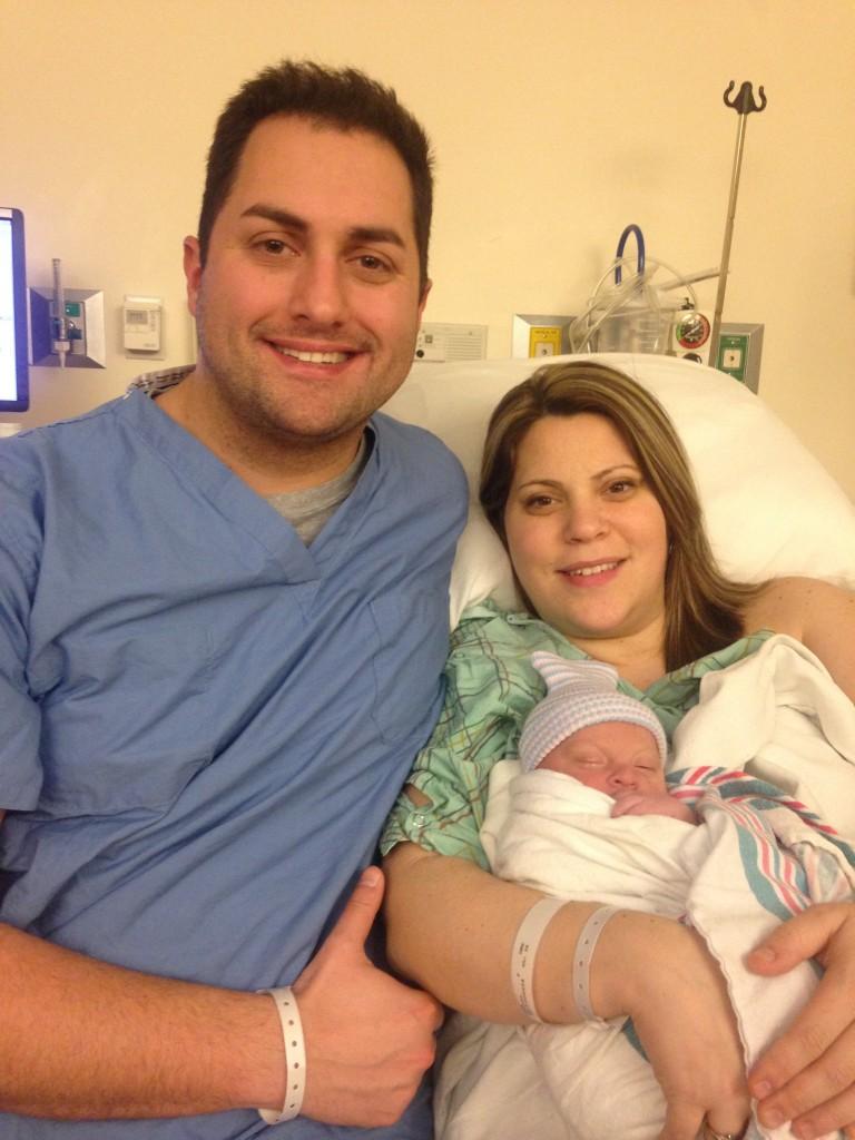 Brian Spyros is a Dad!