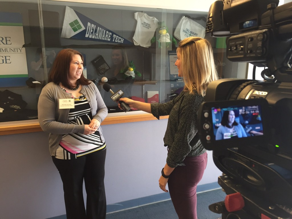 WBOC interviews Delaware Tech professor on the uses of social media marketing.