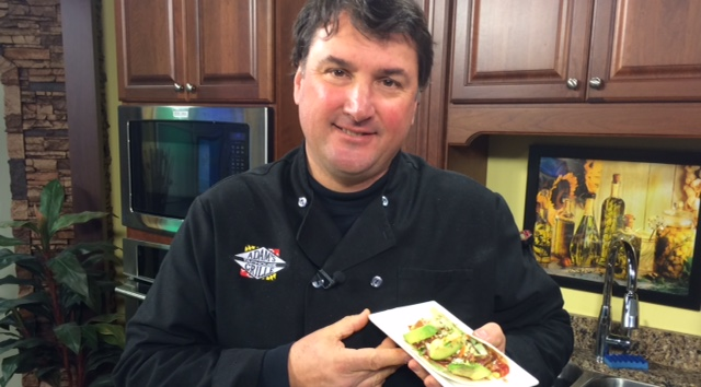 Ahi Tuna Tacos with Pete Roskovich from Black Diamond Catering