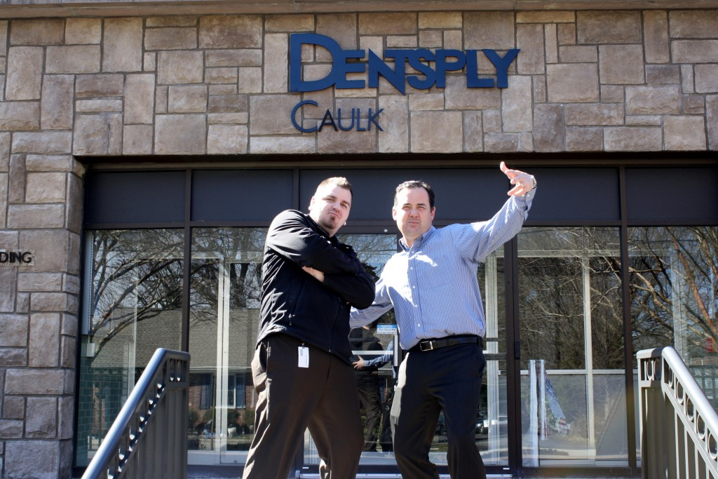 Dentsply Caulk in Milford, Del. 'Shake It Off' in Latest Morale Booster