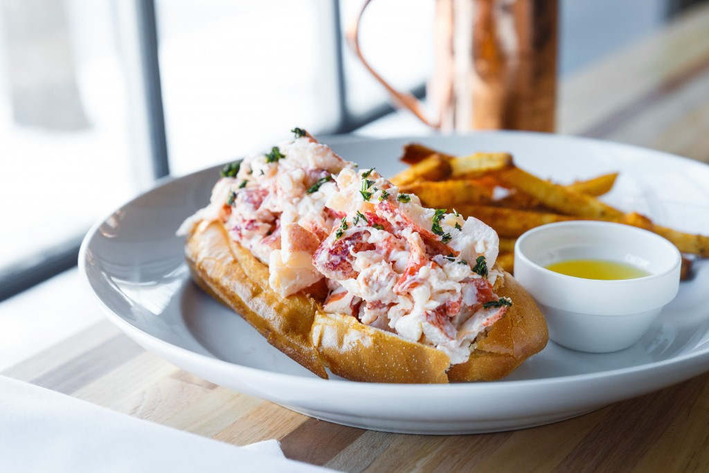 Lobster Roll (Photo by: Chesapeake & Maine)