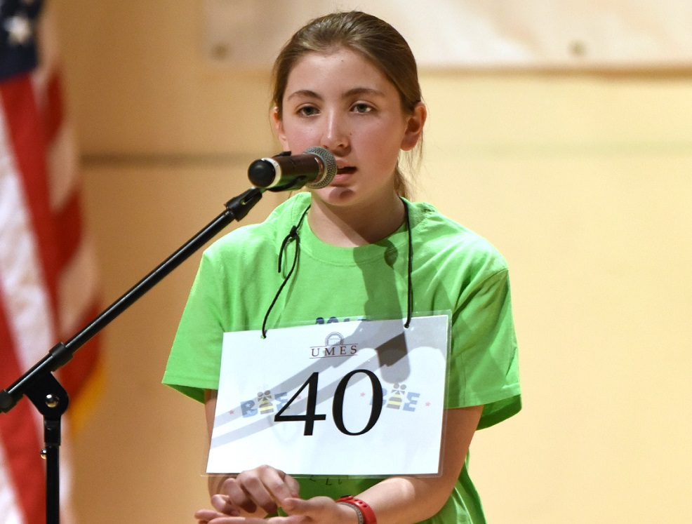 Salisbury Middle Student Wins 2016 Maryland Eastern Shore Regional Spelling Bee