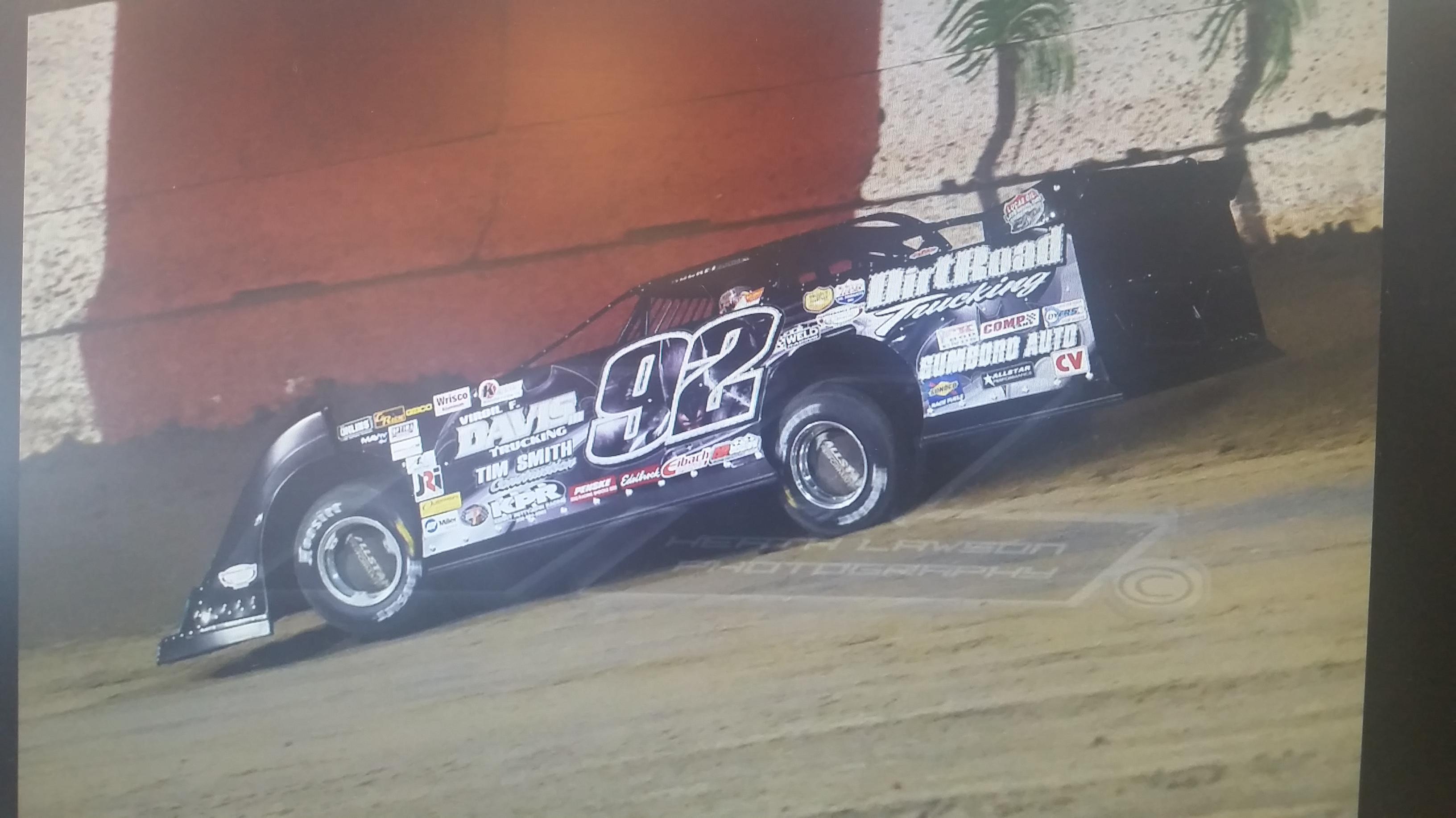 Driver: Nick Davis Photo Credit: Ed Howell