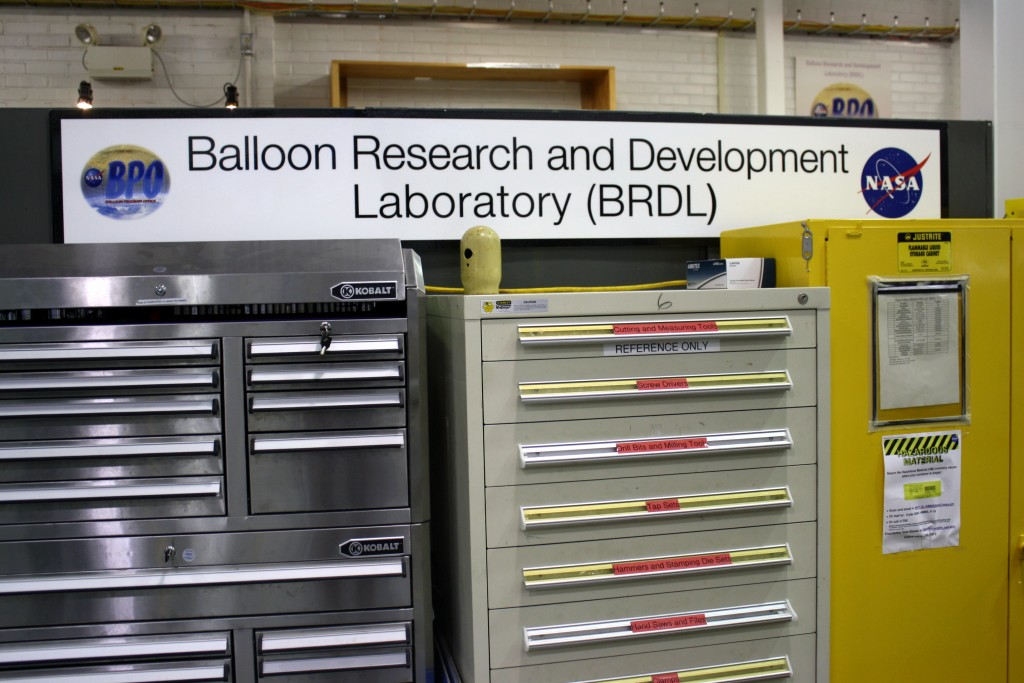 Balloon Research and Development Lab at NASA Wallops