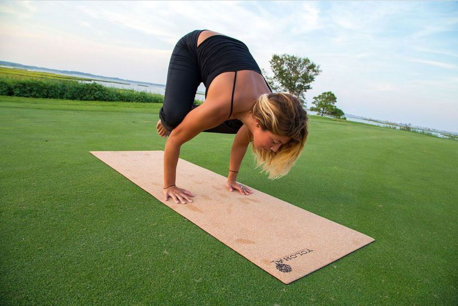 Local Business Yoloha Creates & Maintains World's First Eco-friendly Cork Yoga Mat