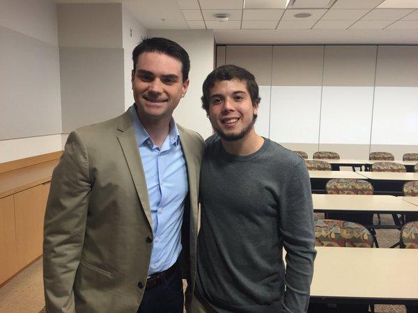 Ben Shapiro Speaks at Salisbury University Amidst Trump Drama