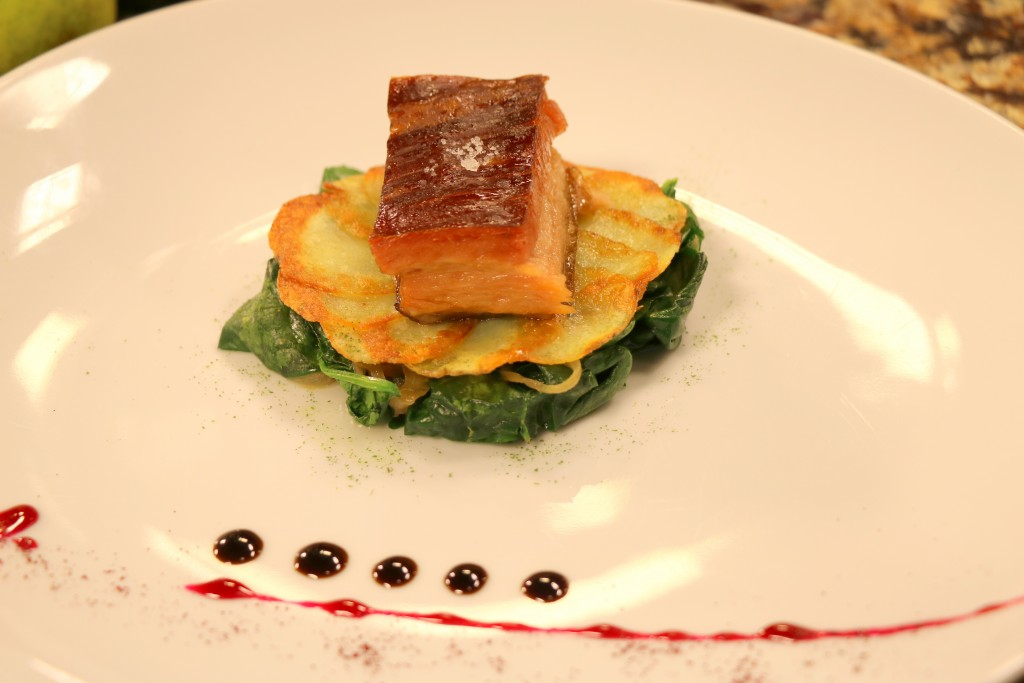 Braised Pork Belly with Chef Jordan Lloyd of the Bartlett Pear Inn