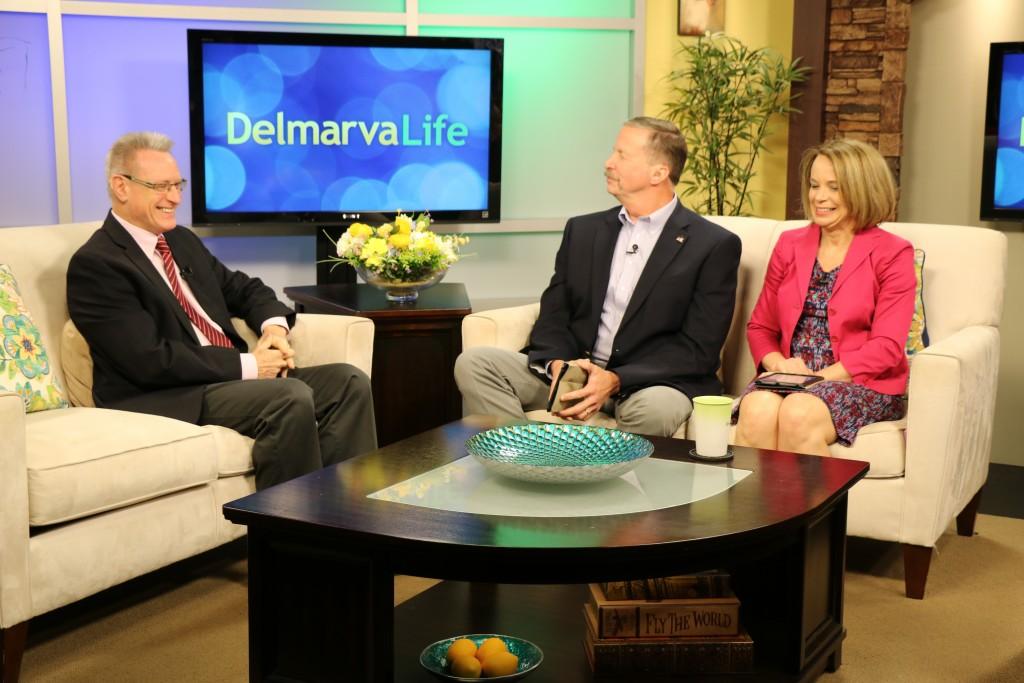 WBOC News Director John Dearing, Jimmy, & Lisa