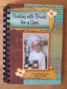 Brooke's Cookbook (Courtesy: Brooke Mulford Foundation)