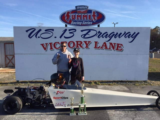 Drag Racing: Hubbard Takes Jr. Shootout Win – Sunday, April 10, 2016