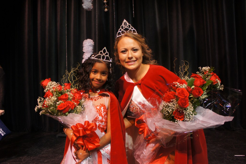 New Miss Laurel and Little Miss Laurel Crowned