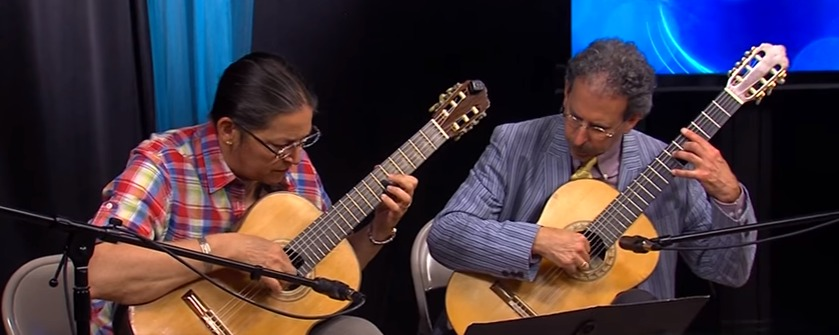 Newman & Oltman Guitar Duo Performs