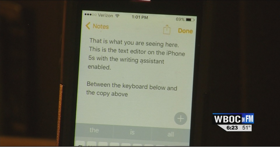 Travels With Charlie: iPhone 5s' Writing Assistance