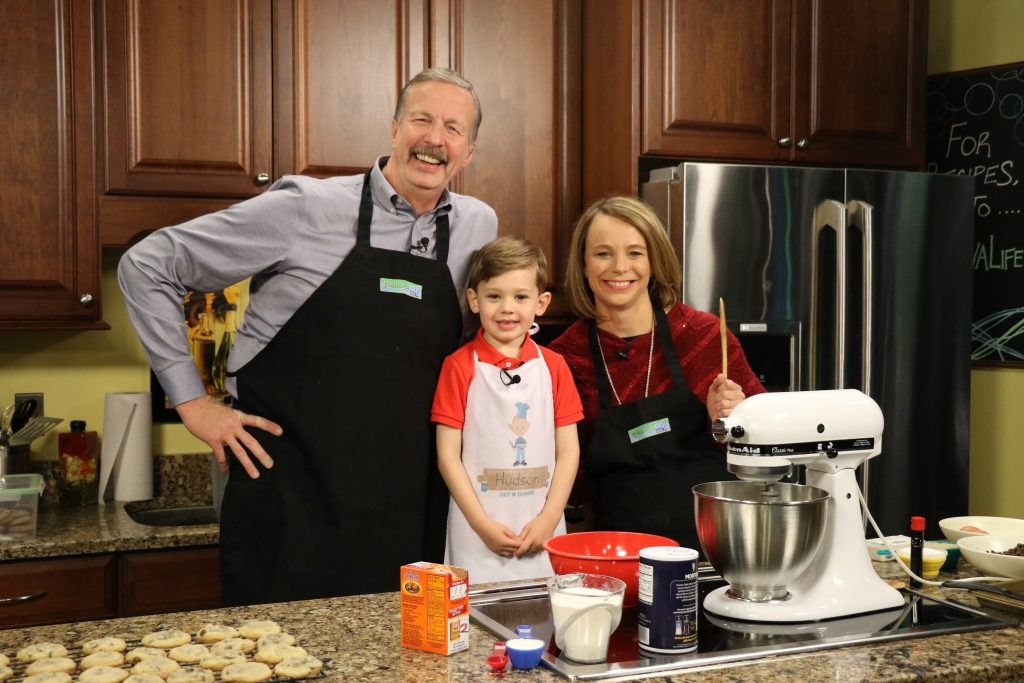 In the Kitchen with 5-Year-Old Hudson Making Chocolate Chip Cookies