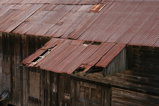 The mill needs a new roof as the existing roof is rusting and deteriorating. (Photo credit: Double Mills Flicker gallery)