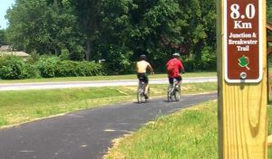 There are several bicycle trails in and around the Lewes area. (Photo: WBOC)