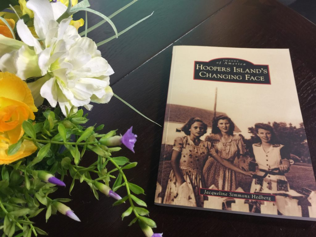 "Author Jacqueline Simmons Hedberg Tells Us About her Book, ""Hooper's Island Changing Face"""