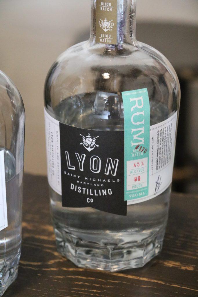 Lyon Distilling Co.'s white rum (Photo: Lauren Holloway)
