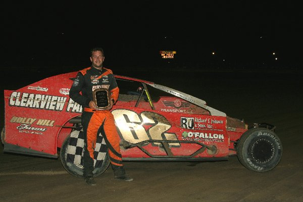 Matt Jester Napa Big Block Modified Winner
