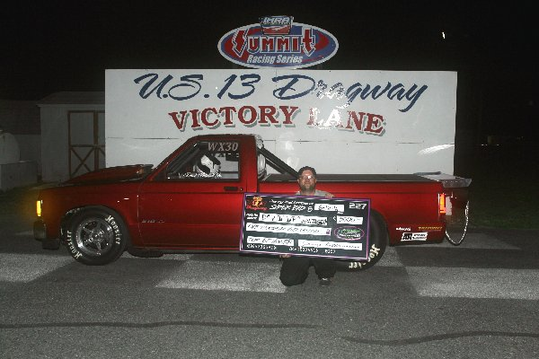 Drag Racing: David Whitesell Takes 5 Grand Top ET Win: U.S. 13 Dragway