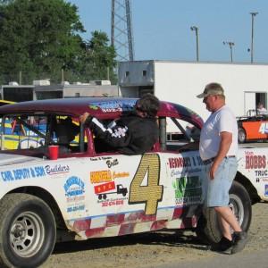 A past Camp Barnes Benefit Stock Car Race (Photo: Carolyn Parsons & Delaware Racing)
