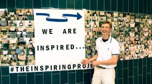 """Chase Marvil's """"Inspiring Wall"""""""