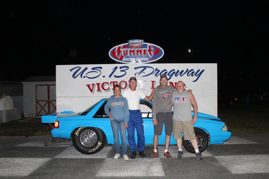Drag Racing: Russell Takes Win in Top ET: U.S. 13 Dragway
