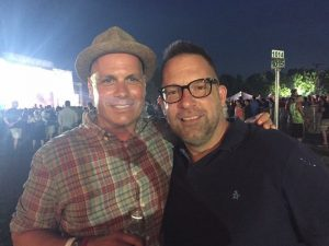 Mike Greco (left) and Jesse Berdinka (right) at the 2015 Firefly Music Festival. (PC: Mike Greco)