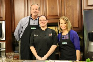 Chef ____ from ____ with Jimmy and Lisa