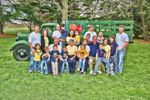 The Fifer family has been growing on the same land for almost 5 generations. (Photo Credit: Fifer Orchards)