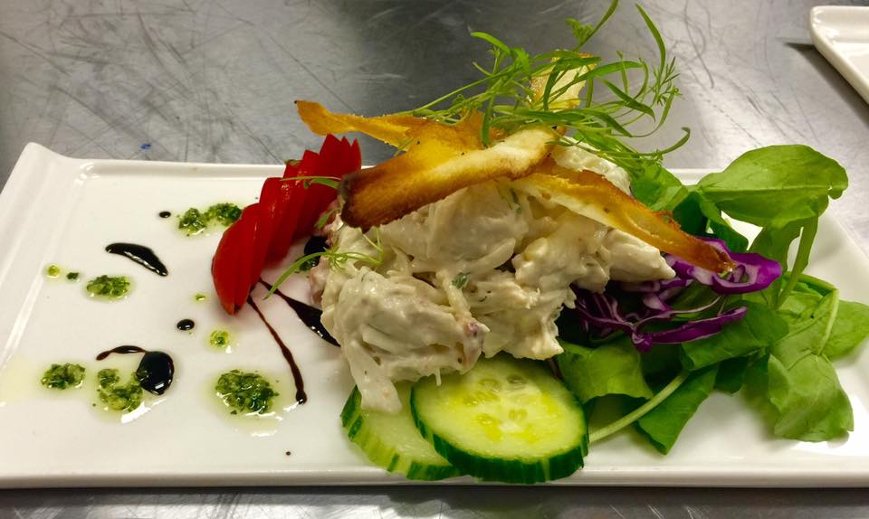Citrus Crab Salad (Photo: Palate Bistro & Catering)