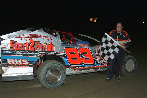 DALE HAWKINS NAPA BIG BLOCK MODIFIED WINNER