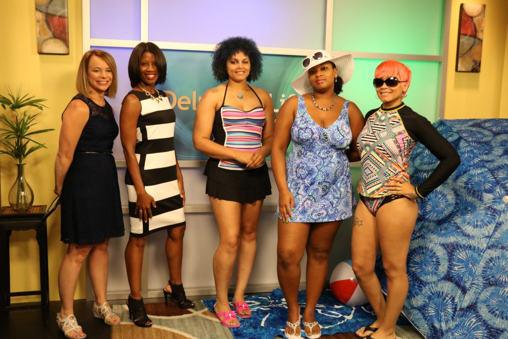 Finding Out Which Bathing Suit is Best with Image Consultant, Tia Hargrove, Founder of 'Dress for Higher'